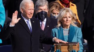 Las imágenes de la asunción de Biden