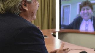 Alberto Fernández candidato al Premio Nobel de la Paz
