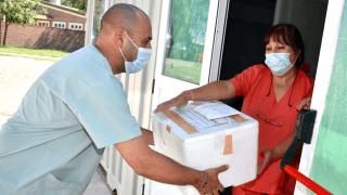 La Pampa: llegaron 4.500 dosis de la vacuna china Sinopharm